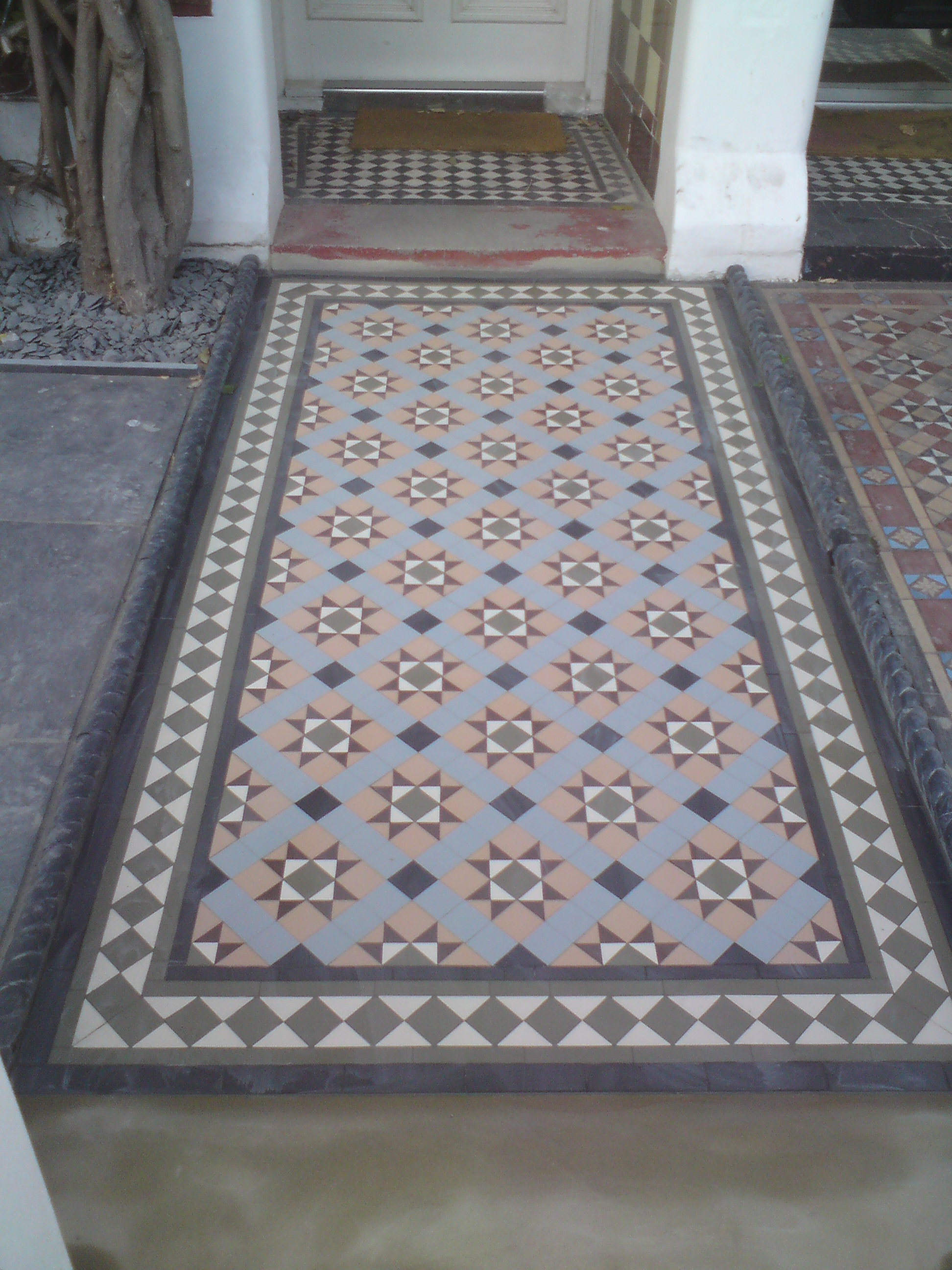 Victorian Style tiling